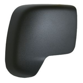 Peugeot Bipper 2008-2018 Wing Mirror Cover Cap Black Right Side
