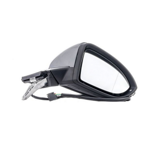 VW Golf MK7 2013-2020 Electric Heated Primed Door Wing Mirror Right Side