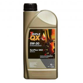 Car Engine Oil Triple QX SynPlus VAG SAE 5W30 Fully Synthetic 1L 1 Litre