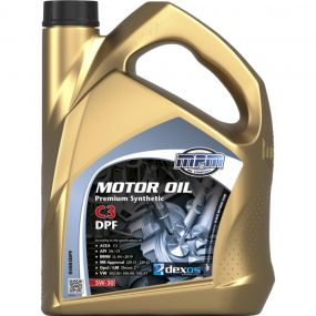Car Engine Oil MPM SAE 5W30 C3 DPF Fully Synthetic Low Saps 5L 5 Litre
