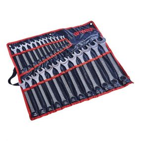 Amtech New 25pc Combination Spanner Set Garage Workshop Tool DIY
