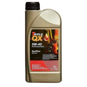 Car Engine Oil Triple QX SynPlus SAE 5W40 Fully Synthetic 1L A3 B3 B4 1 Litre