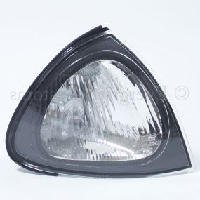 Toyota Avensis 1997-2000 Front Indicator Clear Black Surround Drivers Side O/S