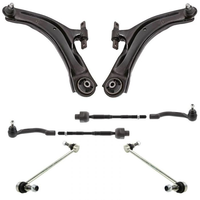 Nissan Qashqai 2006-2013 Front Lower Left And Right Wishbones Arm Kit