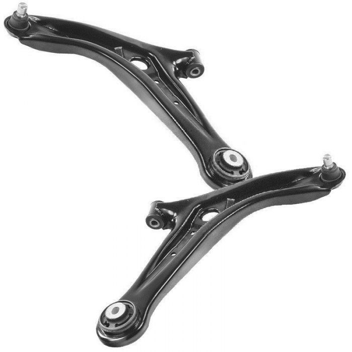 2008-2015 Lower Front Wishbones Suspension Arms Pair For Ford Fiesta